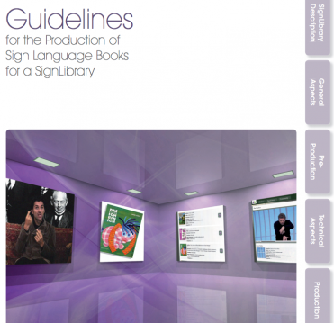 Titel Guidelines SignLibrary